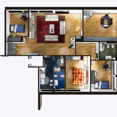 casa 1 -render 2